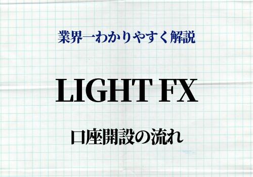 LIGHT FX 口座開設